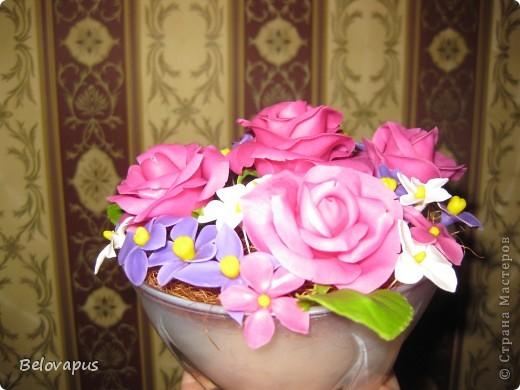 Розовые букеты фото 1