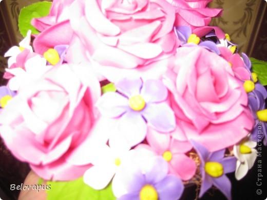 Розовые букеты фото 3