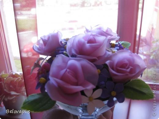 Розовые букеты фото 4