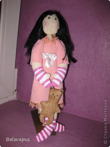 Теперь у меня тоже есть своя кукла.Первый блинчик, и не комом!