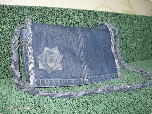 Как своими руками сшить сумку из старых джинсов
