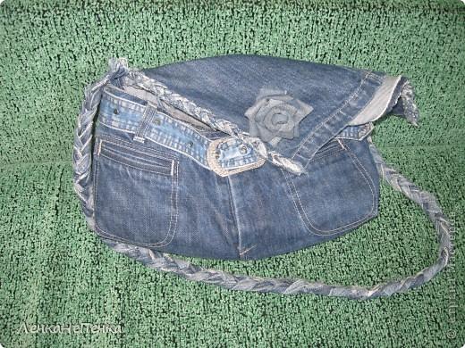 Моя любимая летняя сумка, сперва были конечно любимые джинсы))) Размер 35 Х 45 см, шесть кармашков. фото 2