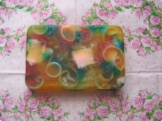 Мои первые мыльца.Запах у них,ванильный и клубничный. фото 3