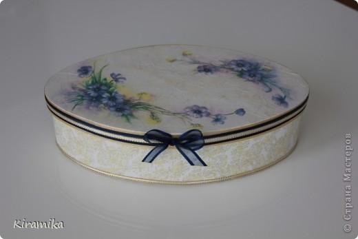 Коробочка с ароматом полевых цветов фото 1