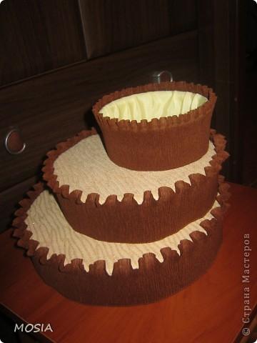 Строгий торт -  шоколадно-ванильный для мужчины, которому  за 50.... фото 4