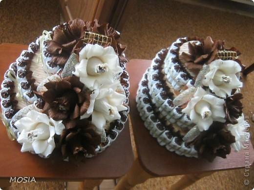 Строгий торт -  шоколадно-ванильный для мужчины, которому  за 50.... фото 3
