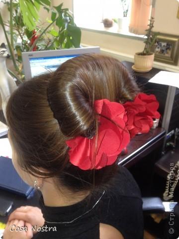 Мастер-класс Шитьё МК по изготовлению заколки д/волос Софист-о-твист Ткань фото 1