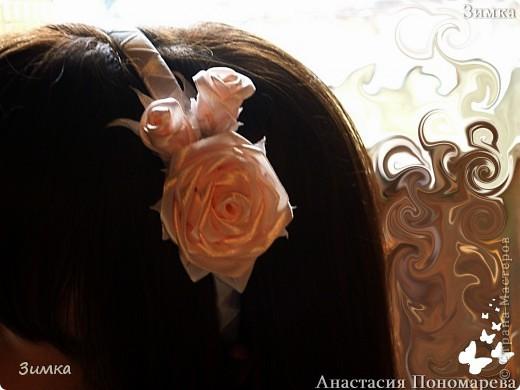 Решила попробовать сделать комплект которым можно и свадебную причёску украсить... фото 22