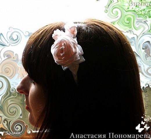 Решила попробовать сделать комплект которым можно и свадебную причёску украсить... фото 16
