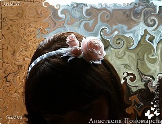 Решила попробовать сделать комплект которым можно и свадебную причёску украсить... фото 18
