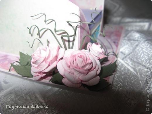 Здравствуйте, дорогие Мастерицы! Вдохновившись визитницами Наталюшки, http://stranamasterov.ru/blog/78045 сделала коробочку для бумажных блоков.  фото 3