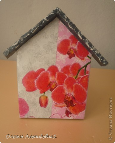 """Ключница """"Дом,милый дом"""" заготовки для всех ключниц тоже сделала сама. фото 8"""