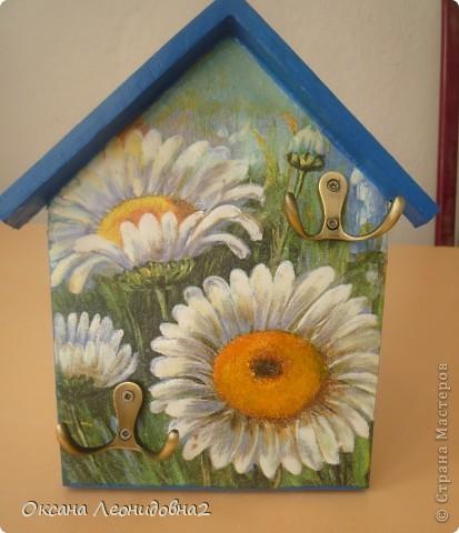 """Ключница """"Дом,милый дом"""" заготовки для всех ключниц тоже сделала сама. фото 7"""