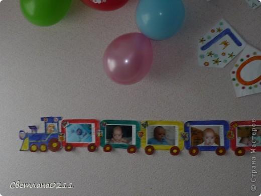 Недавно отметили младшему сыночку первый день рождения. Растяжку брала здесь   http://solnet.ee/holidays/s721.html  фото 2