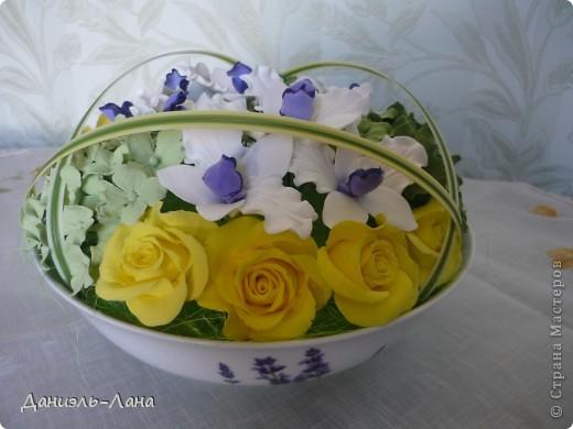 розы.орхидеи.гортензии фото 2