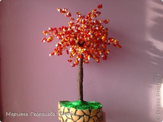 дръвчета от мъниста фото 2