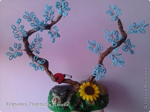 дръвчета от мъниста фото 8