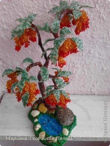 дръвчета от мъниста фото 9