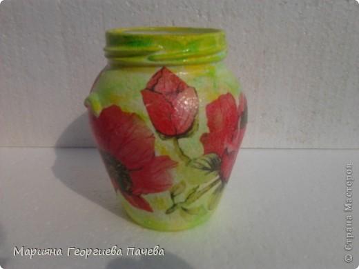 Декоративна бутилка фото 3
