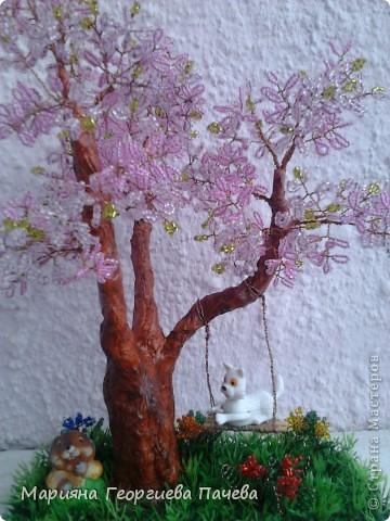 дръвчета от мъниста фото 1