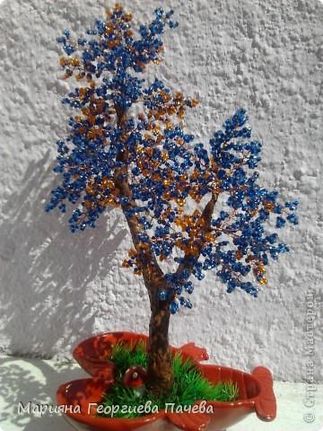 дръвчета от мъниста фото 3