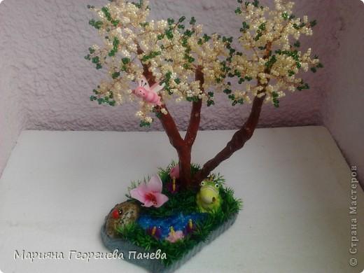 дръвчета от мъниста фото 4