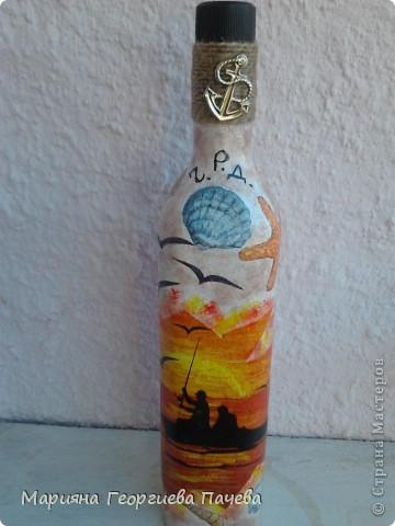 Декоративна бутилка фото 7