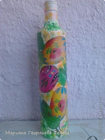 Декоративна бутилка фото 8