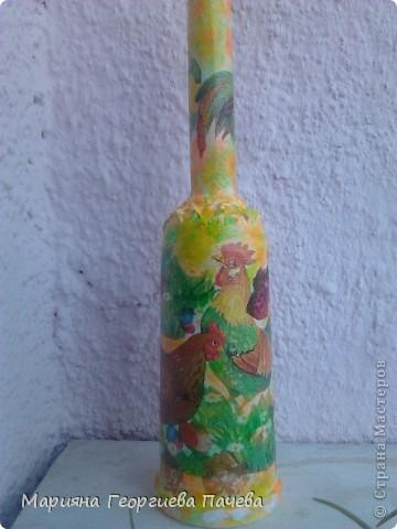 Декоративна бутилка фото 12
