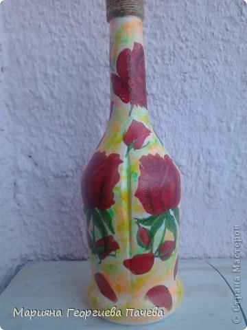 Декоративна бутилка фото 5