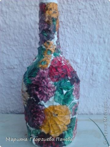 Декоративна бутилка фото 6