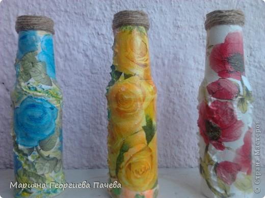Декоративна бутилка фото 9