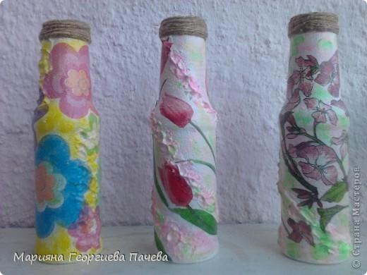 Декоративна бутилка фото 10