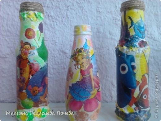 Декоративна бутилка фото 13
