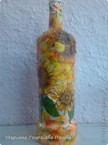 Декоративна бутилка фото 4