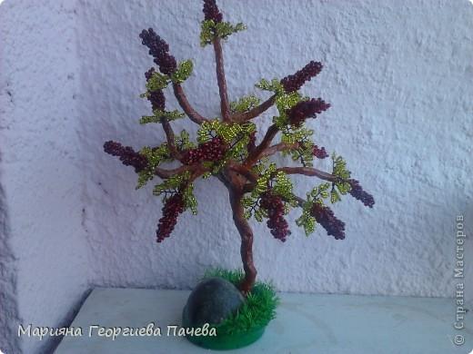 дръвчета от мъниста фото 7