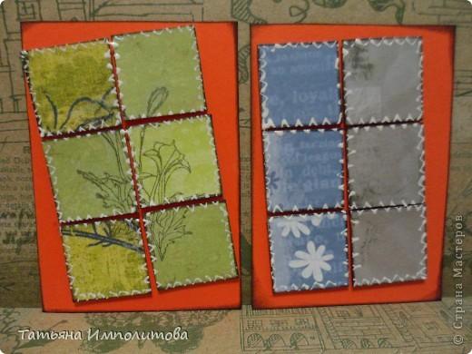 Эту простую серию атсок сделала для того,чтобы показать присланные карточки и подарки Цветочки связала мне хорошая знакомая. фото 9
