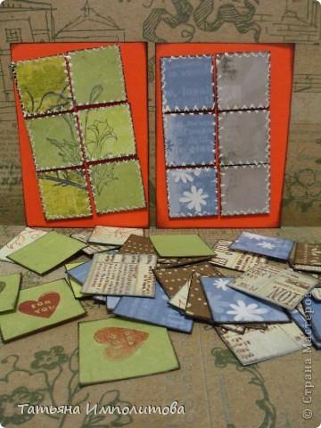 Эту простую серию атсок сделала для того,чтобы показать присланные карточки и подарки Цветочки связала мне хорошая знакомая. фото 8