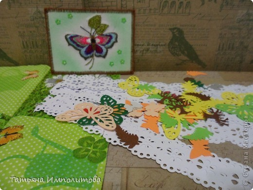 Эту простую серию атсок сделала для того,чтобы показать присланные карточки и подарки Цветочки связала мне хорошая знакомая. фото 19