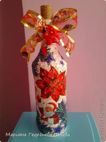 Декоративна бутилка фото 14