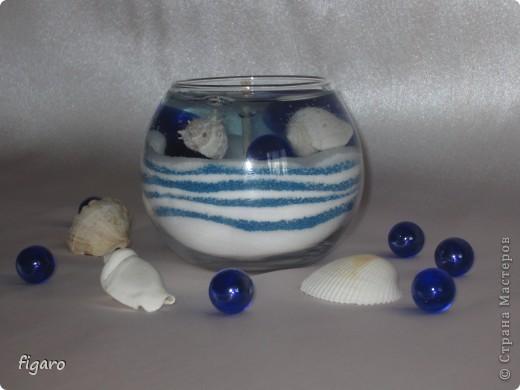 Свечи в морском стиле. фото 1
