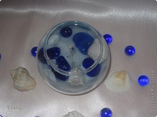 Свечи в морском стиле. фото 2