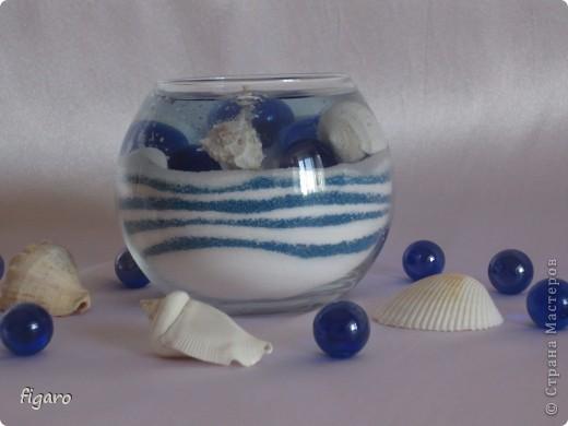 Свечи в морском стиле. фото 3