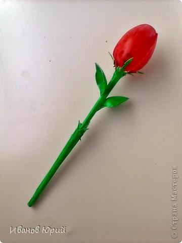 тюльпан из ложек