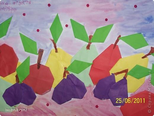 Картины оригами с детьми фото 1