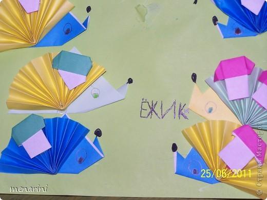 Картины оригами с детьми фото 2