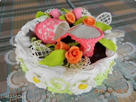 Сделала торт на 20-ти летие девушке... фото 2