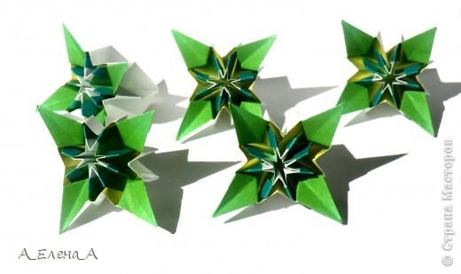 """Здравствуйте! Хочу вкратце рассказать, как я готовилась к конкурсу и поблагодарить всех-всех-всех. Автор Meenakshi Mukerji Название Flower Star.  Из книги """"Exquisite Modular Origami"""" стр 48-50.  30 модулей 5*10 см. Эту кусудаму в начале года показала Светлана Волик.  Таня Турова была первой, кто собрал ее из относительно небольших модулей 5*10 см. Валя Минаева показала такую кусудаму из полосатой бумаги, и я поняла, что геометрический рисунок ей очень подходит. Но взять полосатую бумагу было бы совсем уж плагиатом. У меня оказалась в запасах клетчатая. Собирала не спеша около двух недель. И как только закончила, Маша объявила конкурс. Я обрадовалась:одна номинация у меня есть. фото 3"""