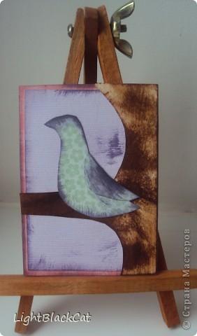 Наконец-то сделала я большую серию! Птицы, конечно излюбленная тема, но я тоже захотела их сделать! фото 6