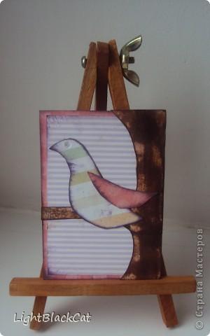Наконец-то сделала я большую серию! Птицы, конечно излюбленная тема, но я тоже захотела их сделать! фото 8